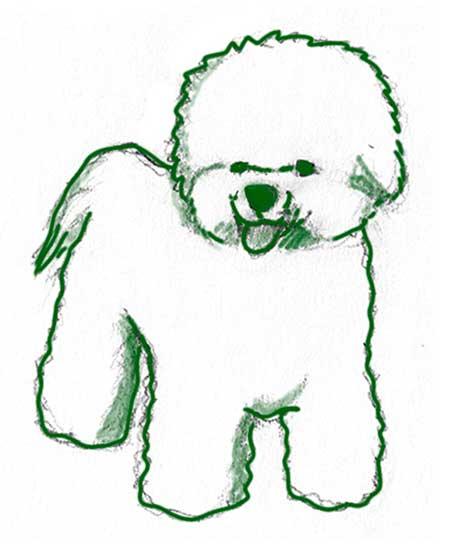 dibujos-de-perros-a-lapiz