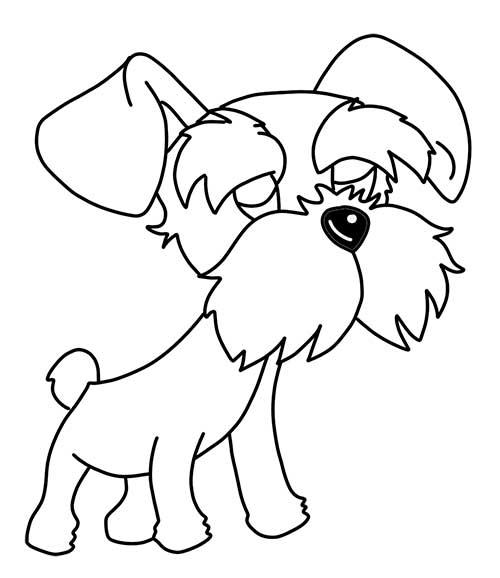 dibujos-para-colorear-de-perritos