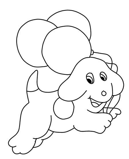 dibujos-para-colorear-perro