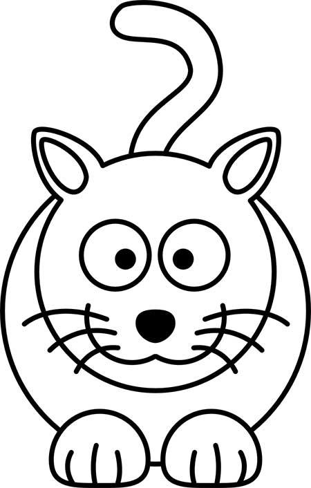 dibujos-sencillos-y-bonitos-gato
