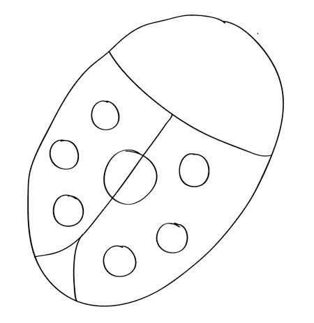 manchas-del-dibujo-facil-mariquita