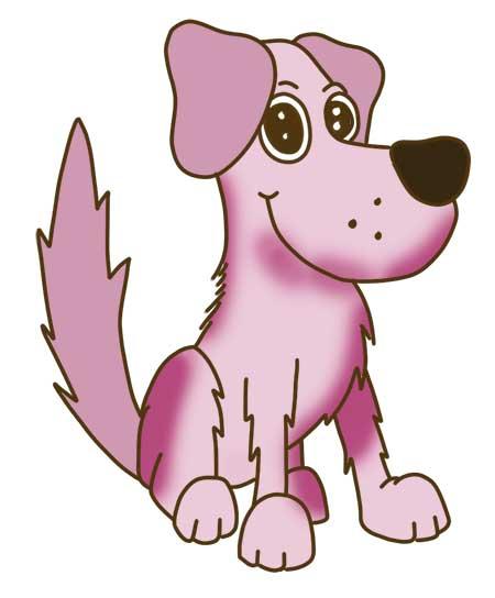 perros-dibujos-a-color