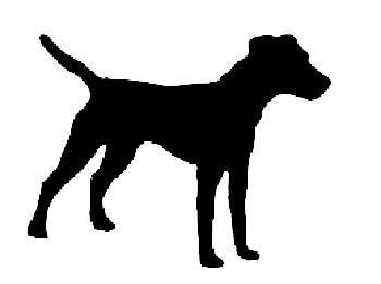 silueta-de-un-perro