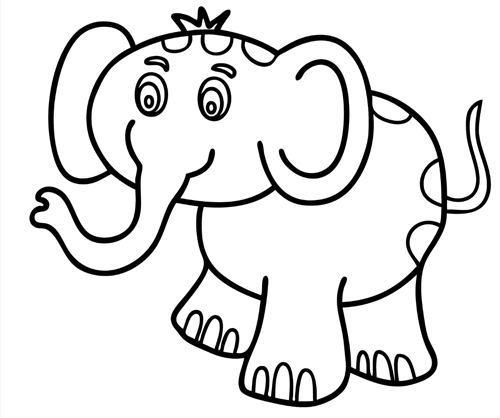 Dibujos Para Imprimir Y Colorear Dibujos Infantiles Para