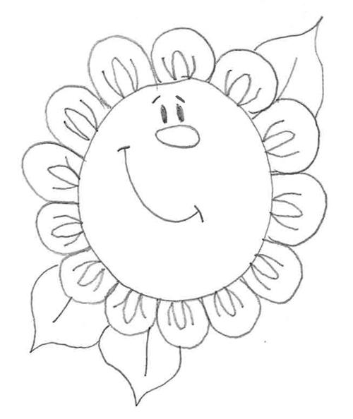 dibujos a lapiz de flores