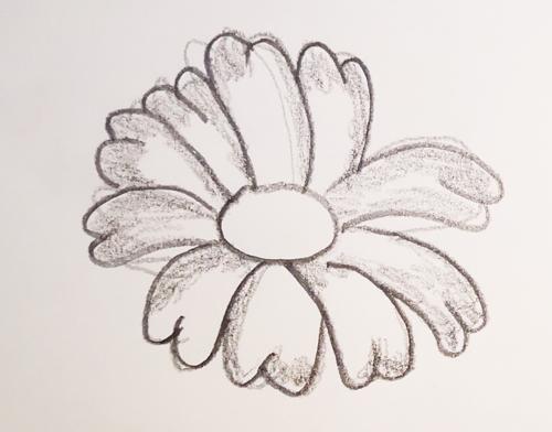 dibujos d flores