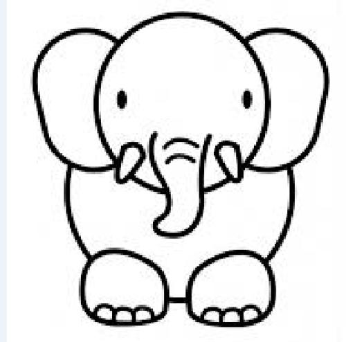 Dibujos Animados Para Colorear De Animales Tiernos Faciles