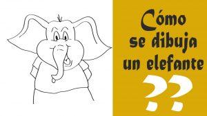 elefante dibujo