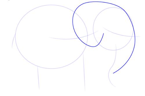 tutorial de dibujo de elefante