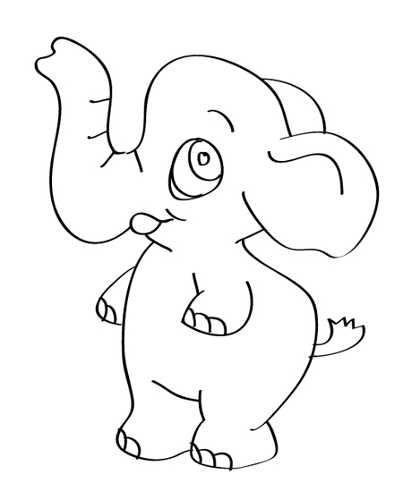 mis dibujos con elefantitos
