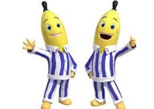 bananas en pijamas dibujos