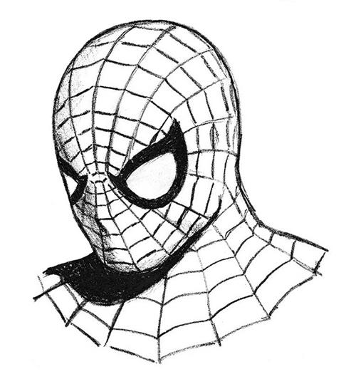 spiderman 3 dibujos