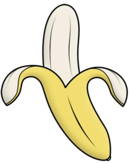 dibujos para colorear bananas en pijamas