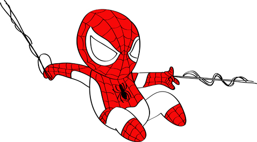dibujos espectacular spiderman