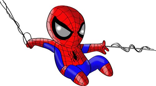 spiderman dibujos niños