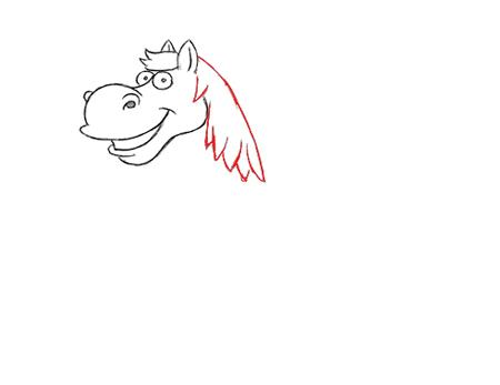 como dibujar un caballo paso a paso