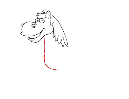 como dibujar un caballo facil