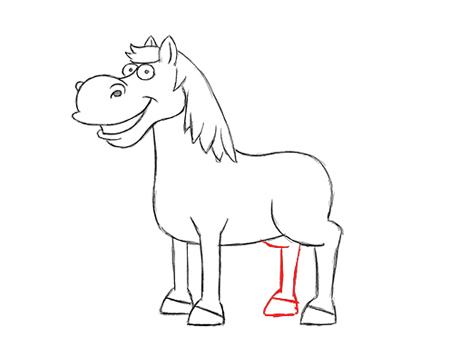 como puedo dibujar un caballo