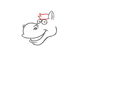 dibujos para colorear caballos
