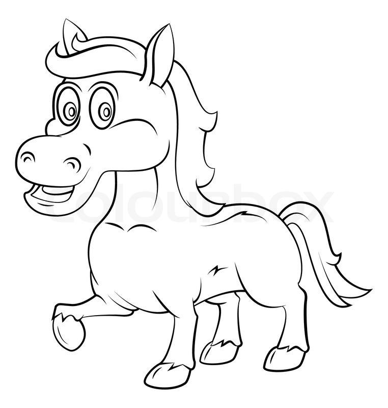 caballo contento