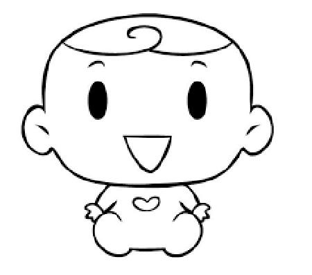 como dibujar bebes tiernos