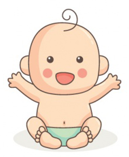 dibujos de hola bebe
