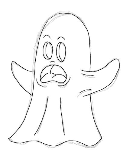 Dibujos De Fantasmas Fantasmas Para Colorear