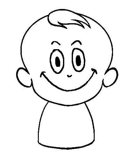 dibujos de bebes sin pañal