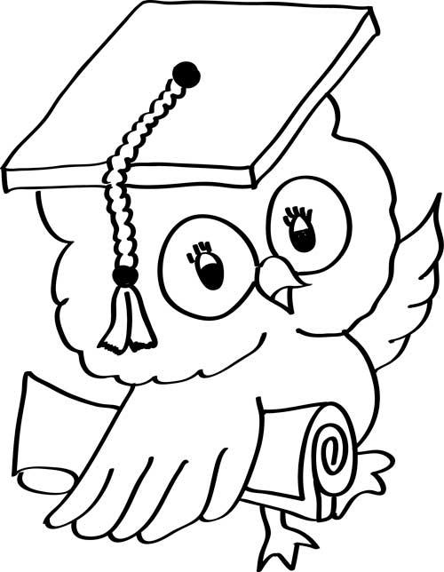 buho en graduacion