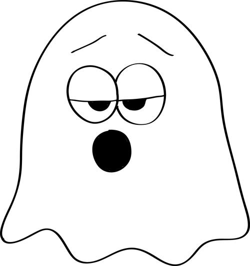 fantasma con sueño