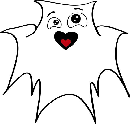 lindos dibujos de fantasmas