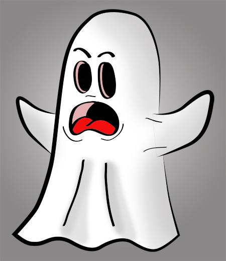 dibujos fantasmas simpaticos