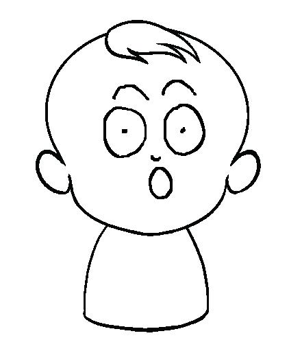 Dibujos De Bebés Dibujar Un Bebé En Formato Digital