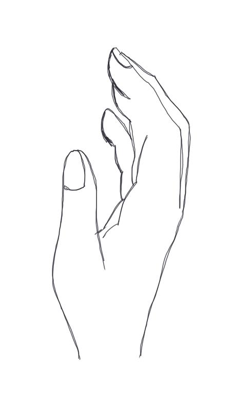 croquis de dibujo de mano
