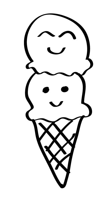 un helado para el bebe