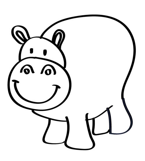 hipopotamo para decorar