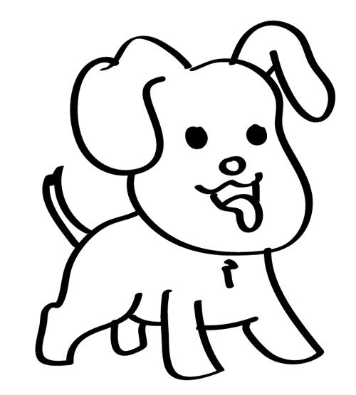 dibujos de perros para bebés