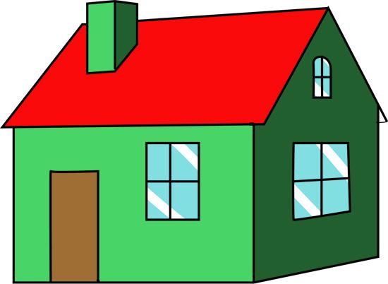 dibujo de casas encantadas para colorear