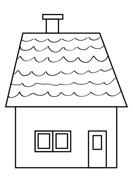 casa de playa para dibujar