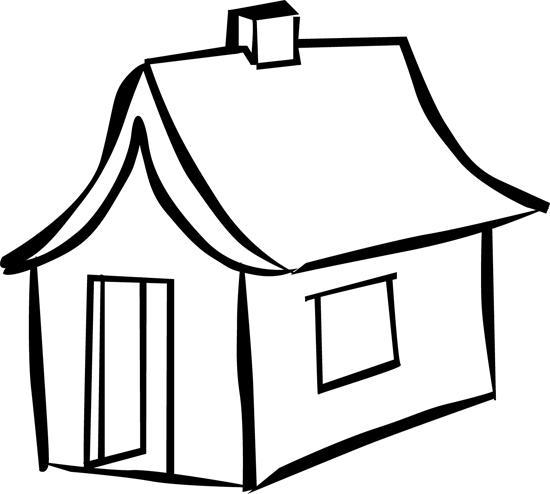 dibujar una casa para niños