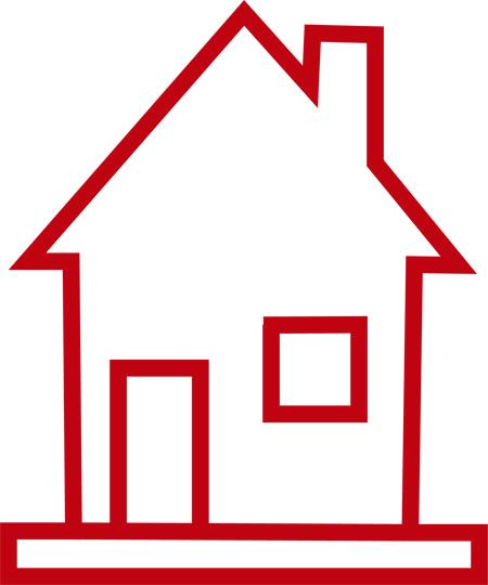 casas sencillas para dibujar