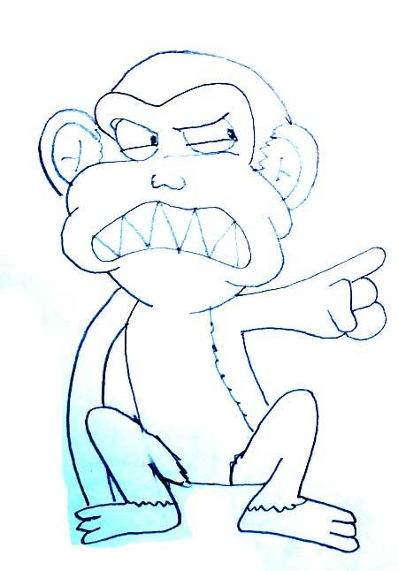dibujos-de-monos-infantiles