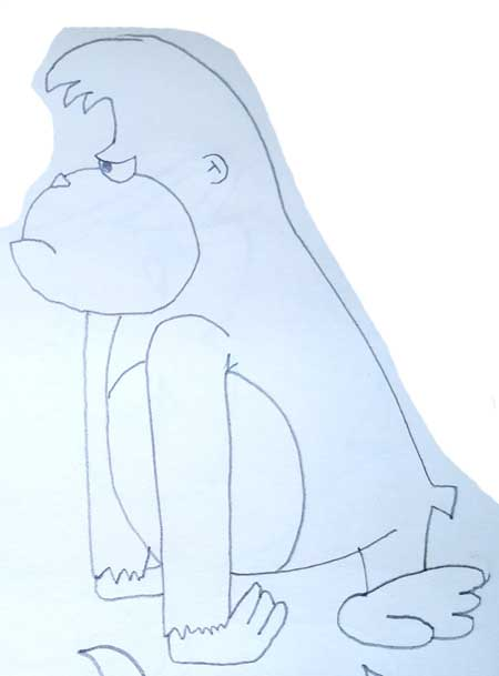 Dibujos De Monos Para Colorear Dibujos Fáciles De Hacer