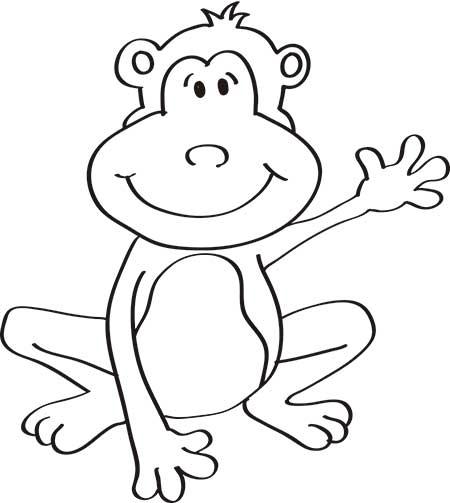 dibujos-de-monos-para-niños