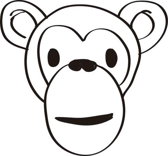 dibujos-de-monos-simpaticos