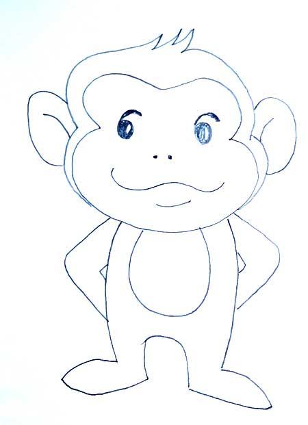 dibujos-de-monos