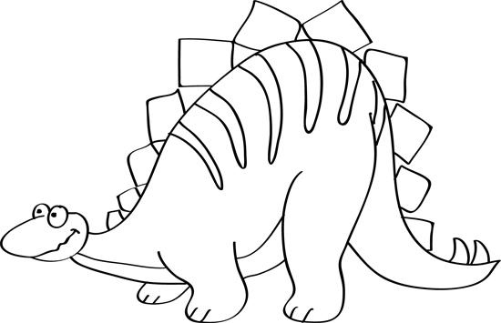 dibujar un dinosaurio en el ordenador