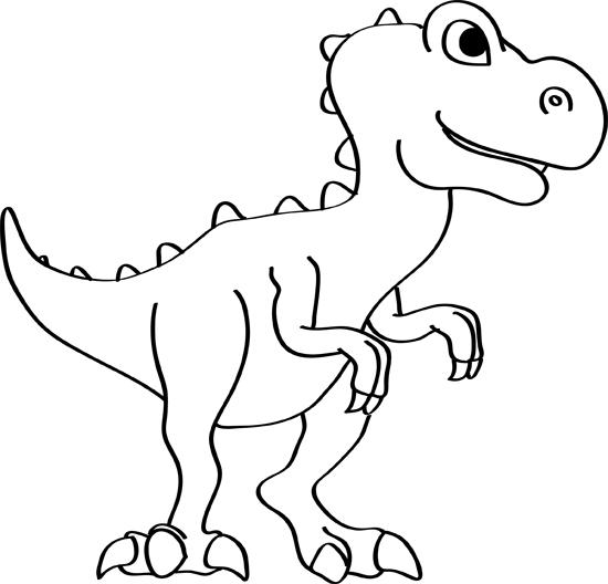 dibujos de dinosaurio paso a paso