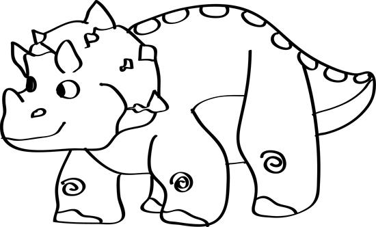 dibujos faciles de dinosaurios