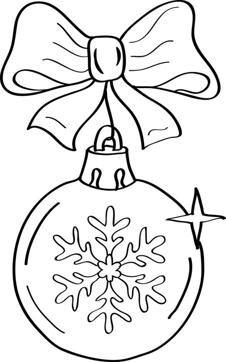bola de navidad dibujo